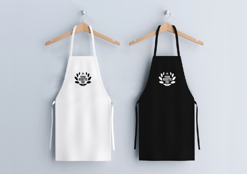 YOUNG RISOTTO CHEF OF THE YEAR aprons