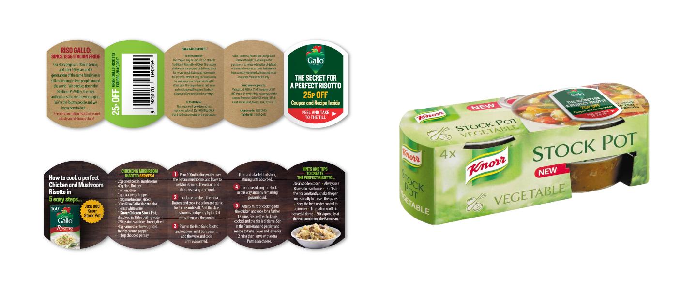 Knorr stockpot with Riso Gallo recipe