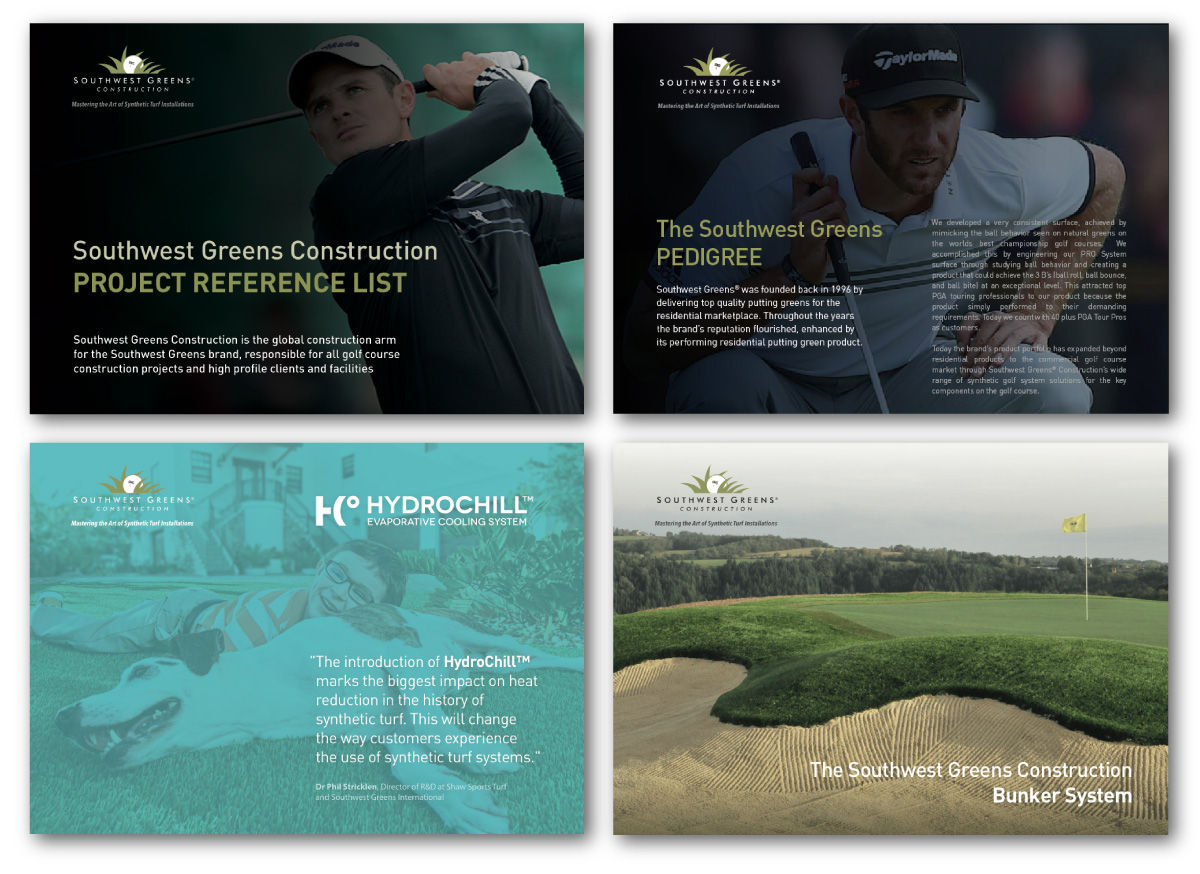 Southwest Greens Construction - digital marketing downloads